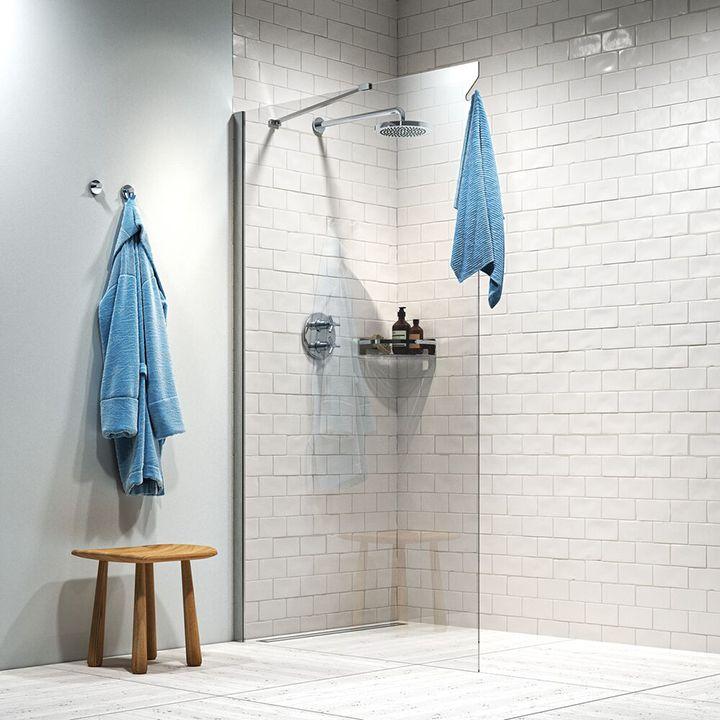 Hooked dusjvegger- komfort innen rekkevidde
