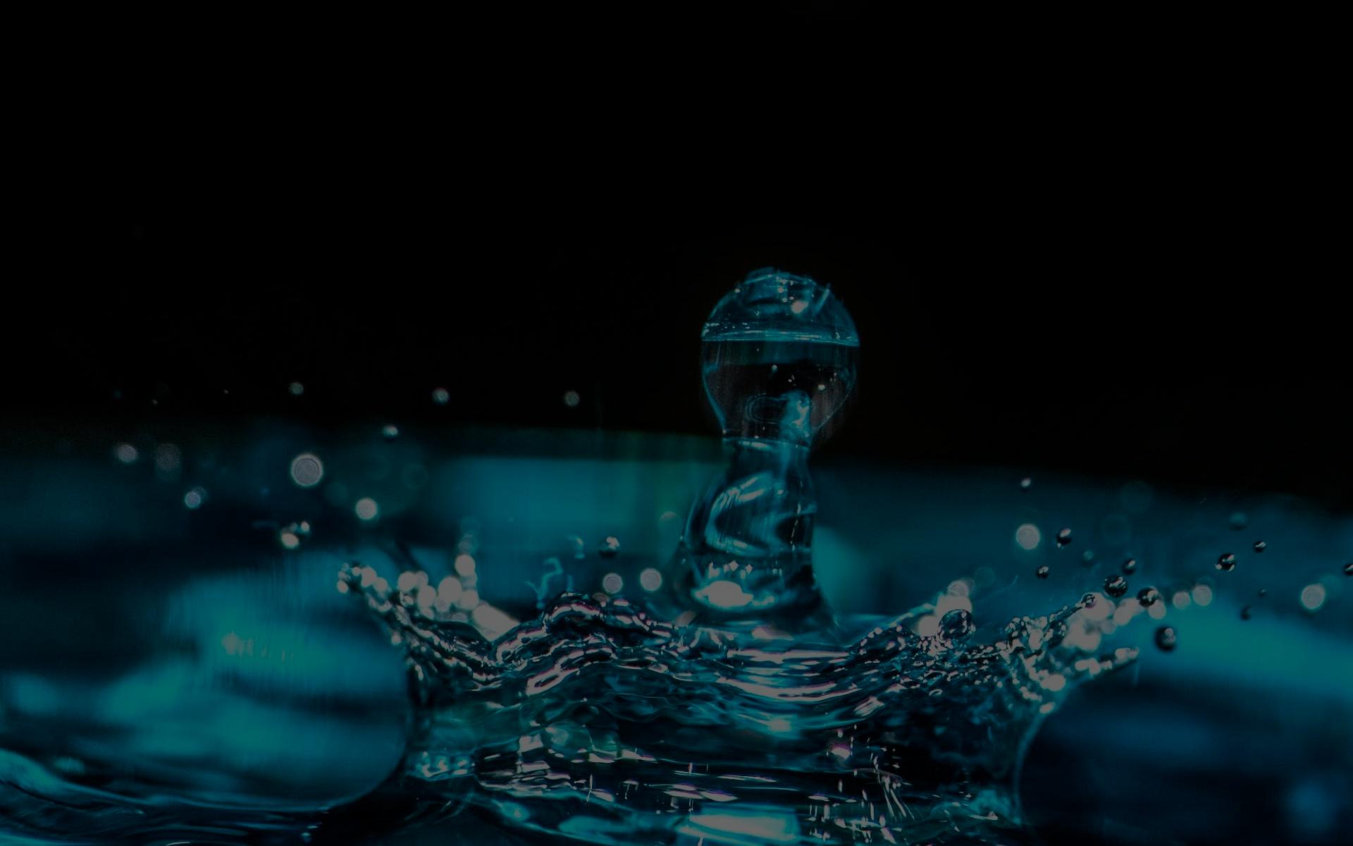 En fin dråpe vann