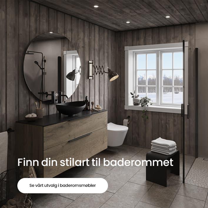 Finn din stil - Baderomsmøbler